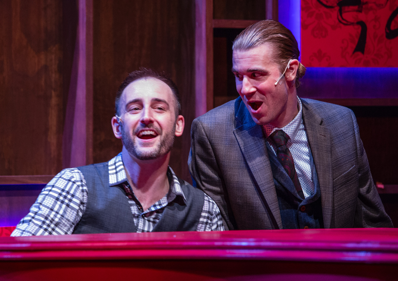 Murder For Two | Merrimack Repertory Theatre